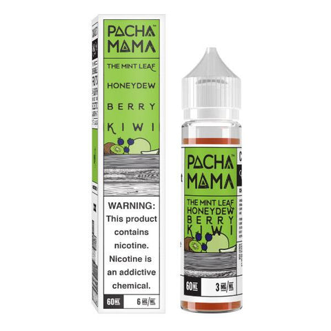60mL Pacha Mama - The Mint Leaf - Honeydew Berry Kiwi