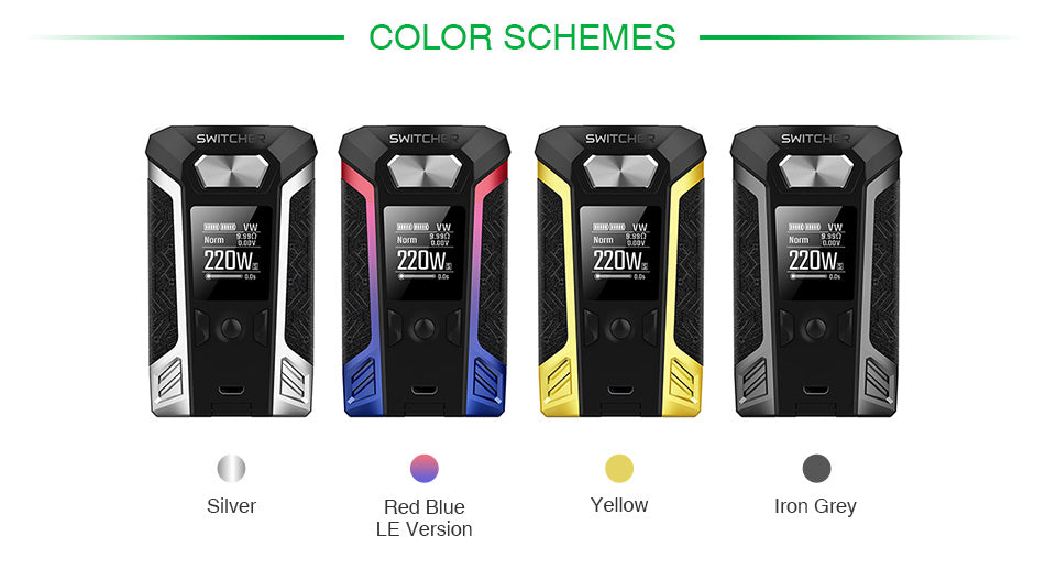 Vaporesso Switcher 220W TC Mod - NO TANK