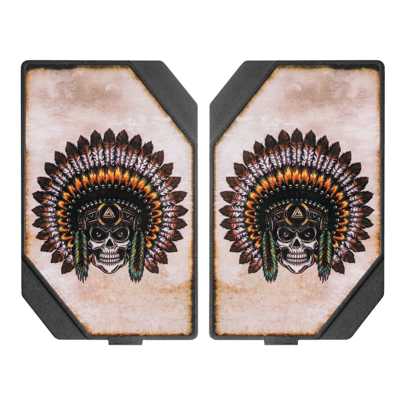 Skull Chief Plates For The LMC Box Mod