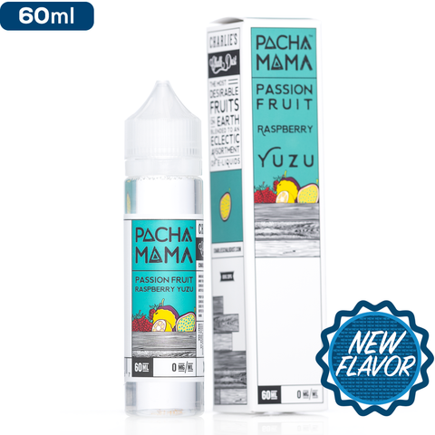 60 ml Pacha Mama - Passion Fruit Raspberry Yuzu