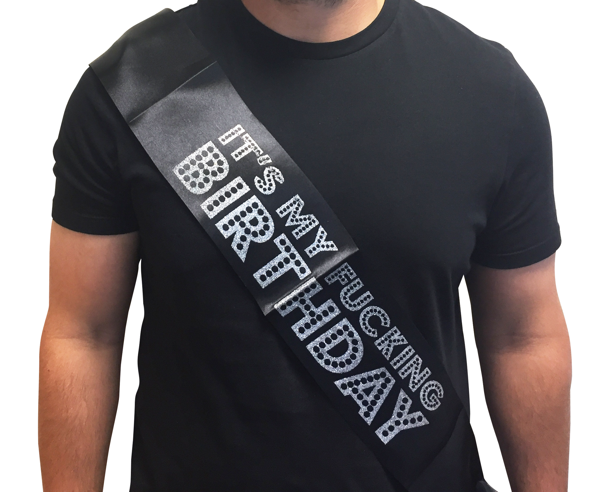 "Birthday Party Sash - ""IT'S MY F*CKING BIRTHDAY"""