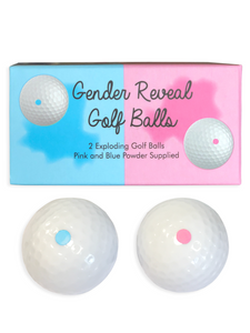 Gender Reveal Golf Ball Pack