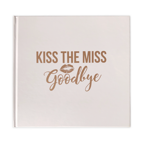 Kiss The Miss Goodbye Hen Party Keepsake Noteboook
