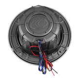 Pair of Kicker 11KM6LC Charcoal Grey 6- 6.5 4-Ohm Coaxial Marine Speakers