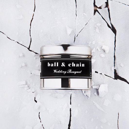 Filthy Velvet Ball & Chain Wedding Bouquet Scented Candle
