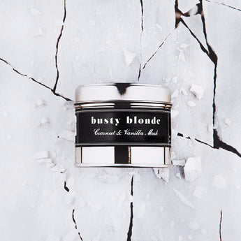 Filthy Velvet Busty Blonde Coconut & Vanilla Musk Scented Candle