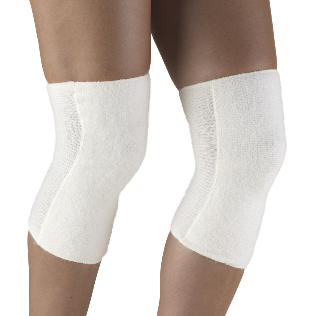 White Angora Knee Warmer 79010