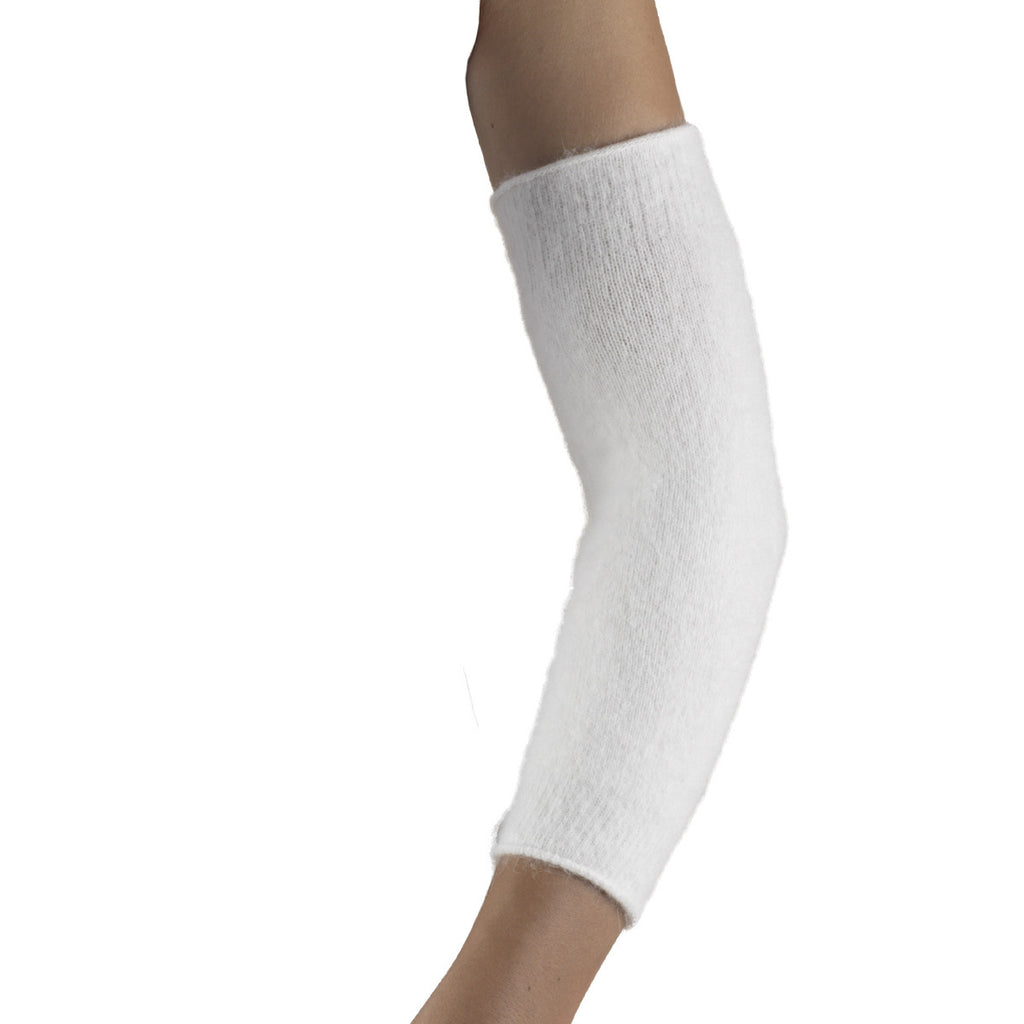 White Angora Elbow Warmer Truform 79040