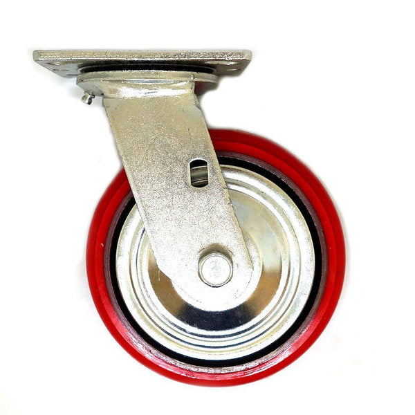 "IPS Material Handling Inc. Casters PT-150S | 6"" Plate Swivel Caster"
