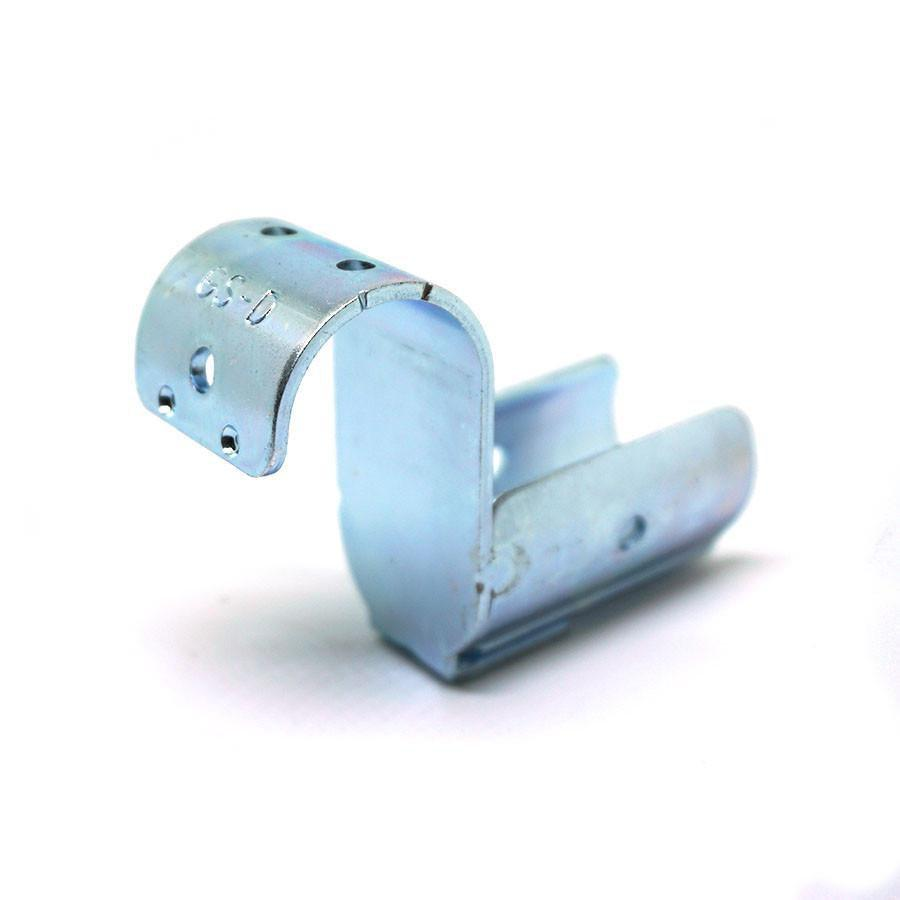 GS-D | Pipe Mounting Bracket with Pipe Stop - IPS Material Handling | Ecoflex