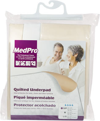 AMG 760-180 EA/1 REUSABLE UNDERPAD WHITE SML 24 X 36IN