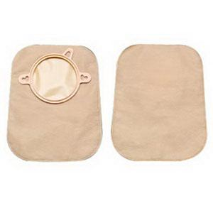 "HOL 18352 BX/30 NEW IMAGE CLOSED POUCH 7"" BEIGE WITHOUT FILTER ,1-3/4"" FLANGE"