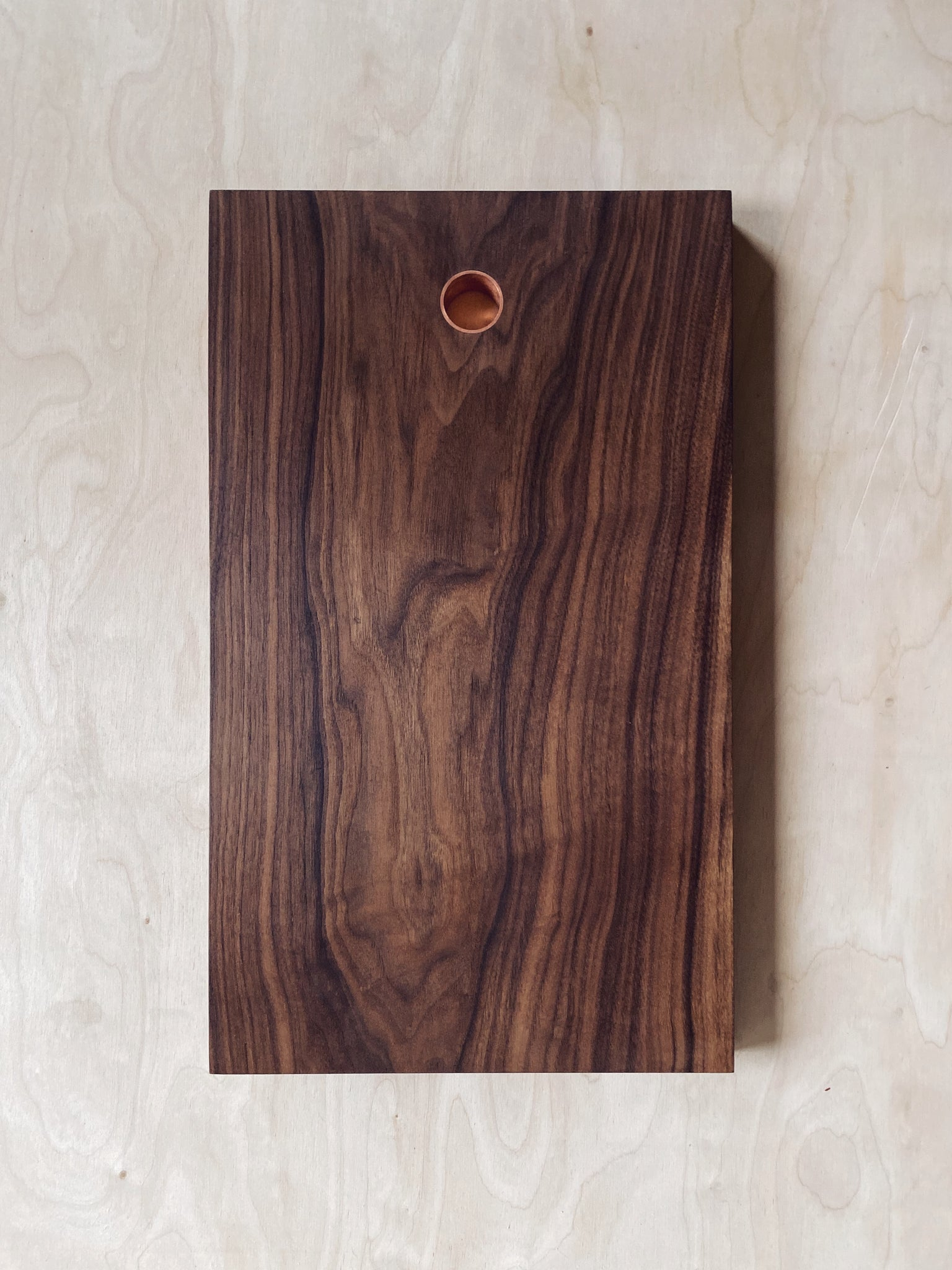 Walnut Board - Copper Insert