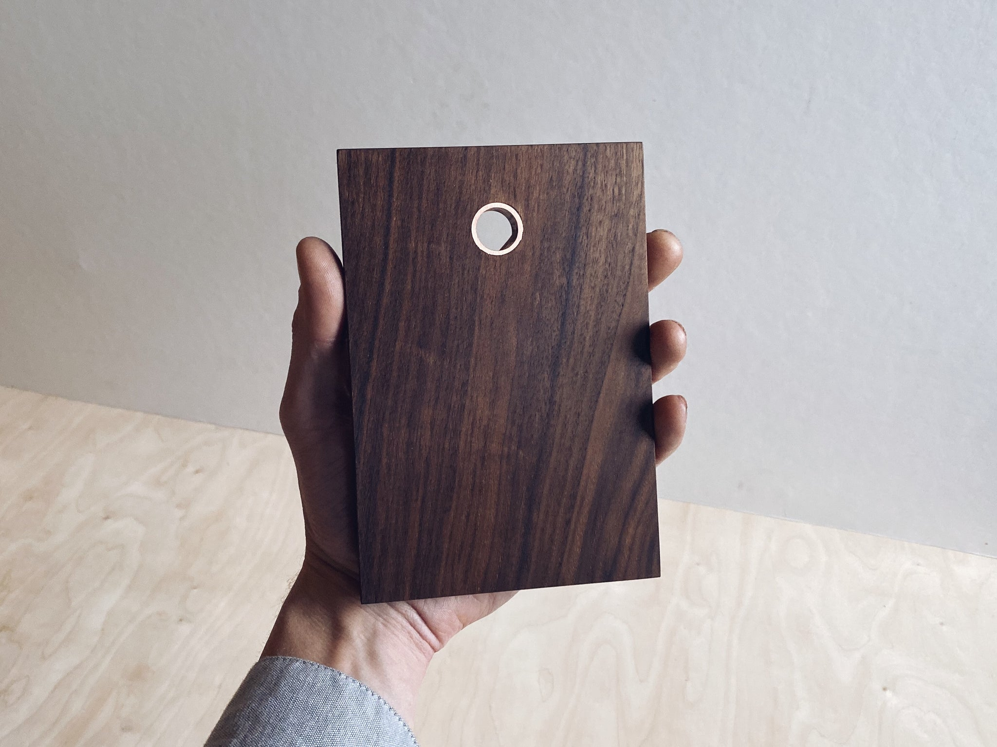 Small Walnut Board - Copper Insert