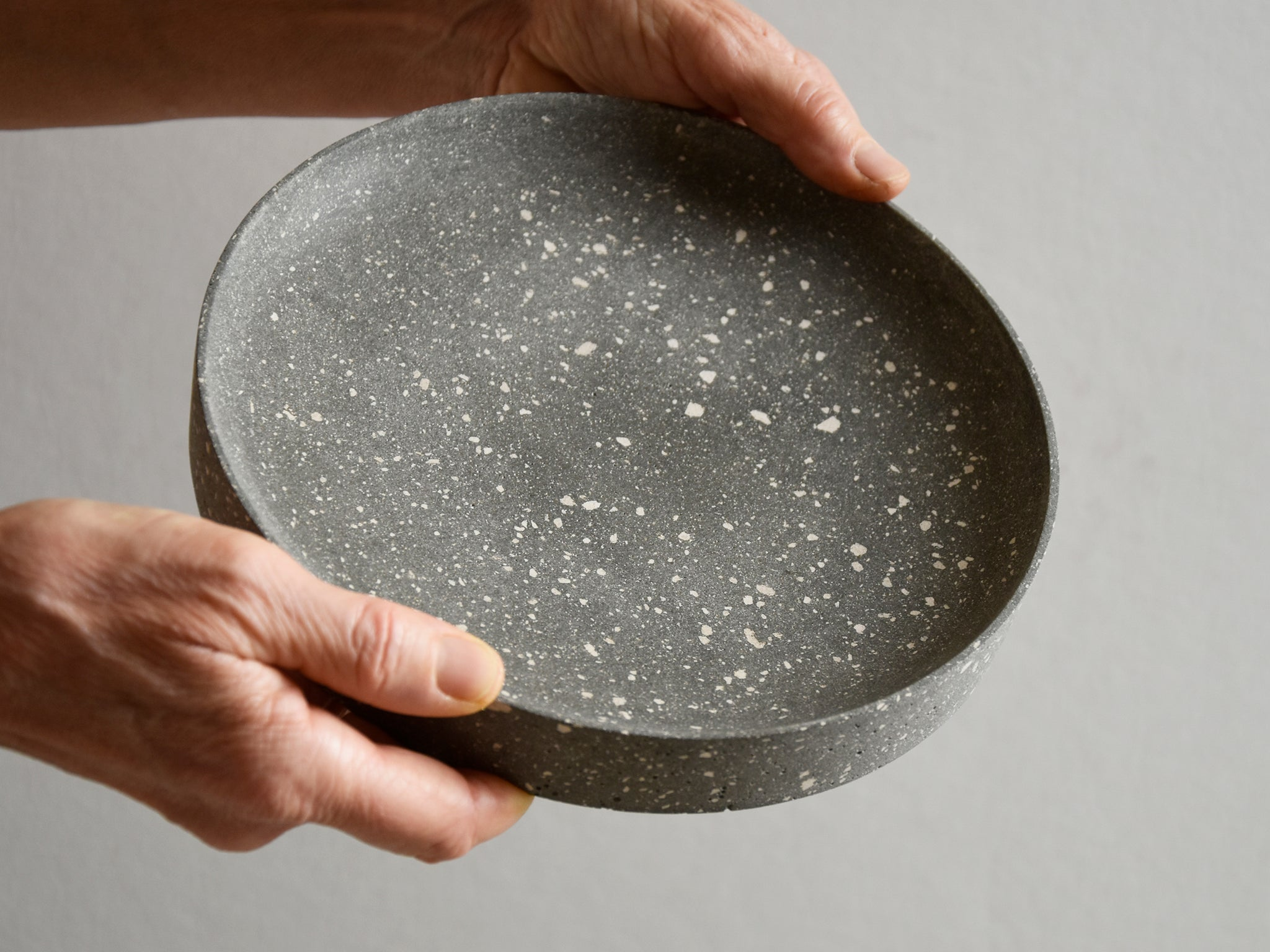 Polished Concrete Bowl - Medium - No.1