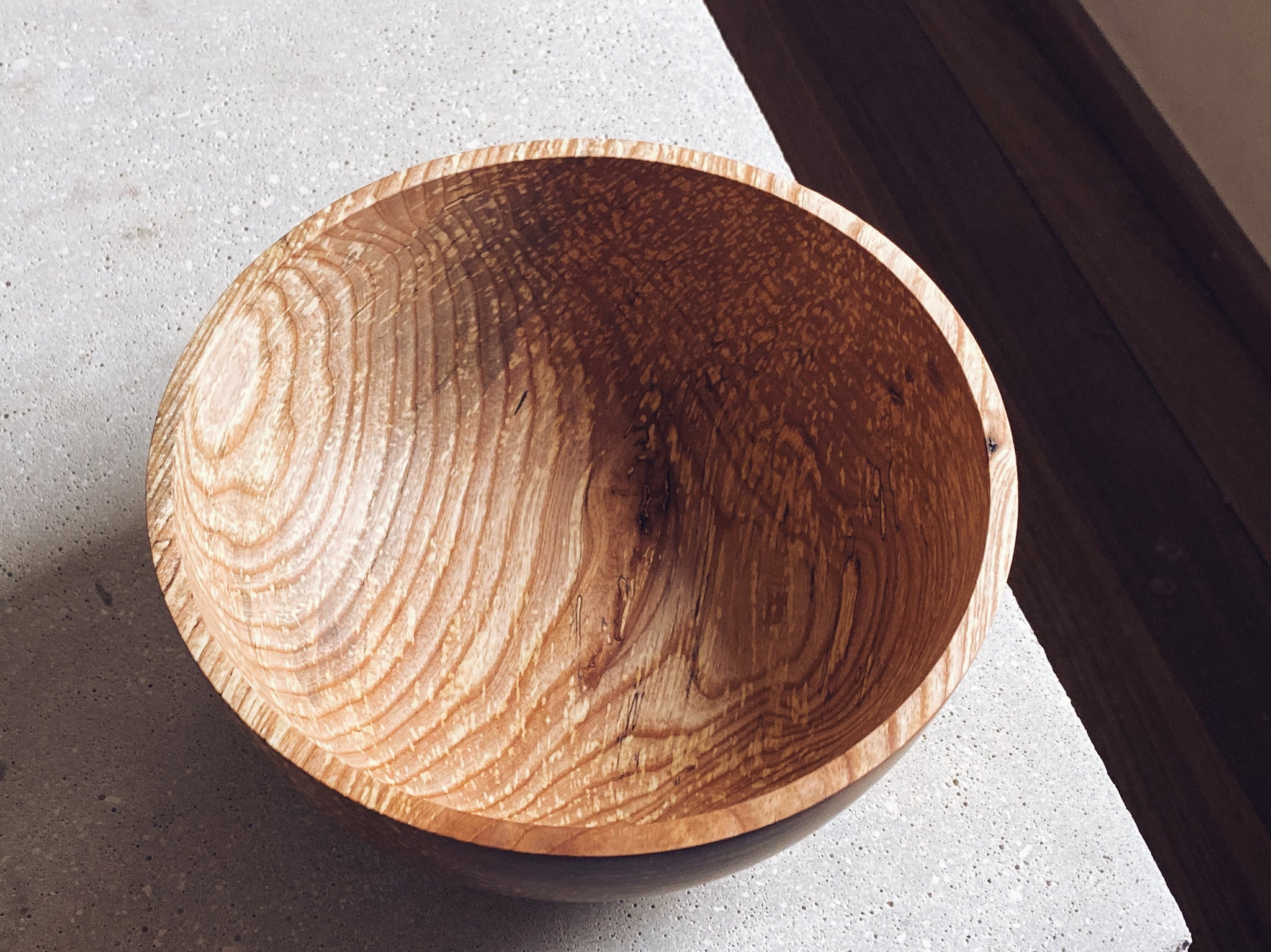 Large Spalted Ash Bowl