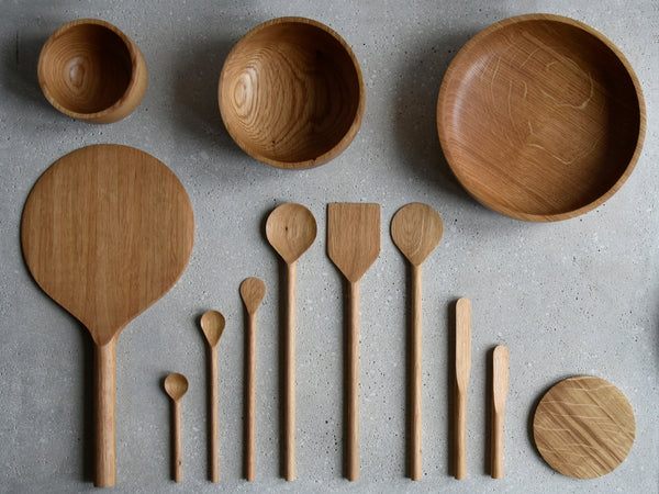 Wooden Utensils + Bowls