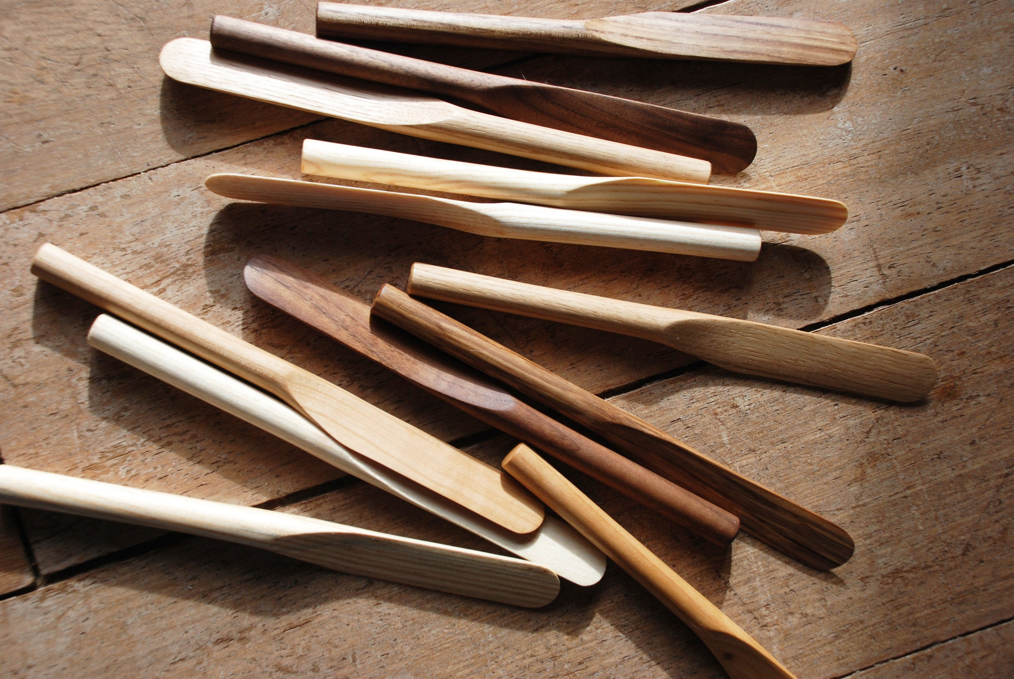 Wooden Butter Knives