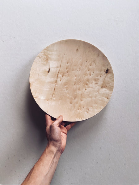 Plate - in Field Maple