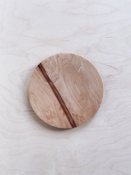 Thin Plate - in Field Maple