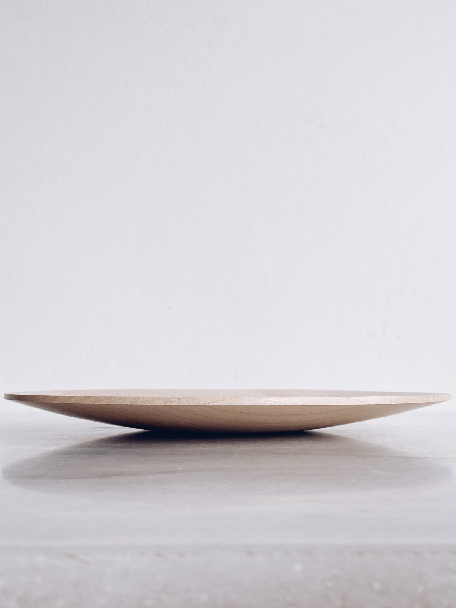 Plate - in Sycamore
