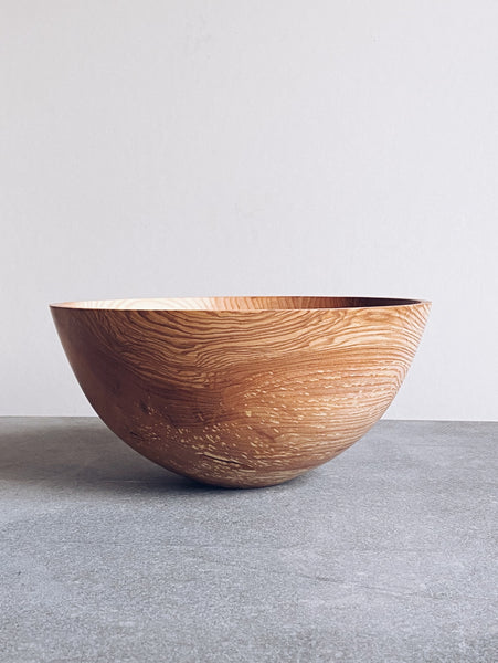 Tall Bowl - in Olive Ash
