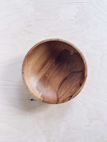 Bowl - in Spalted Beech