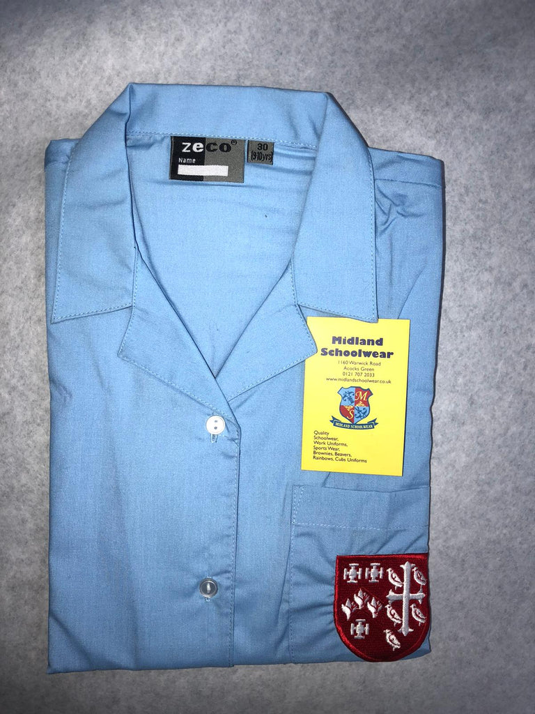 ARCHBISHOP IISLEY CATHOLIC SCHOOL HOUSE COLOUR BLOUSE