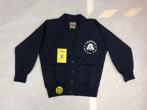 Coppice Primary School Sweatshirt Cardigan