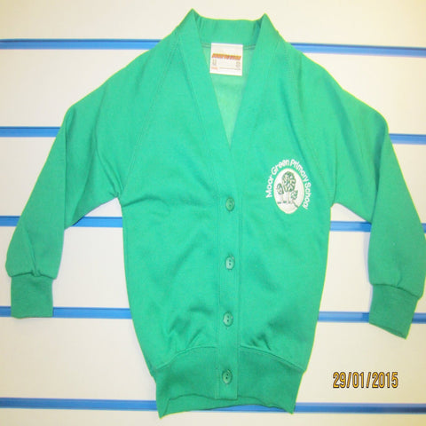 Moor Green Primary School Sweatshirt Cardigan