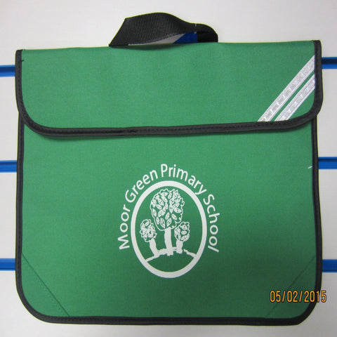 Moor Green Bookbag