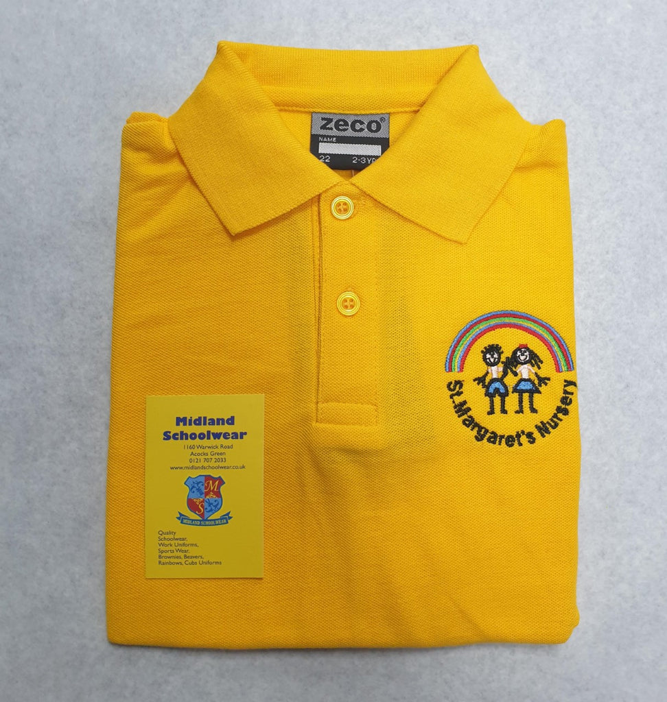 St. Margaret Nursery Polo Shirt