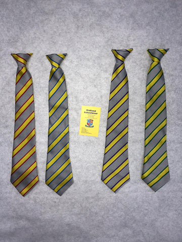 Tile Cross Academy School Tie