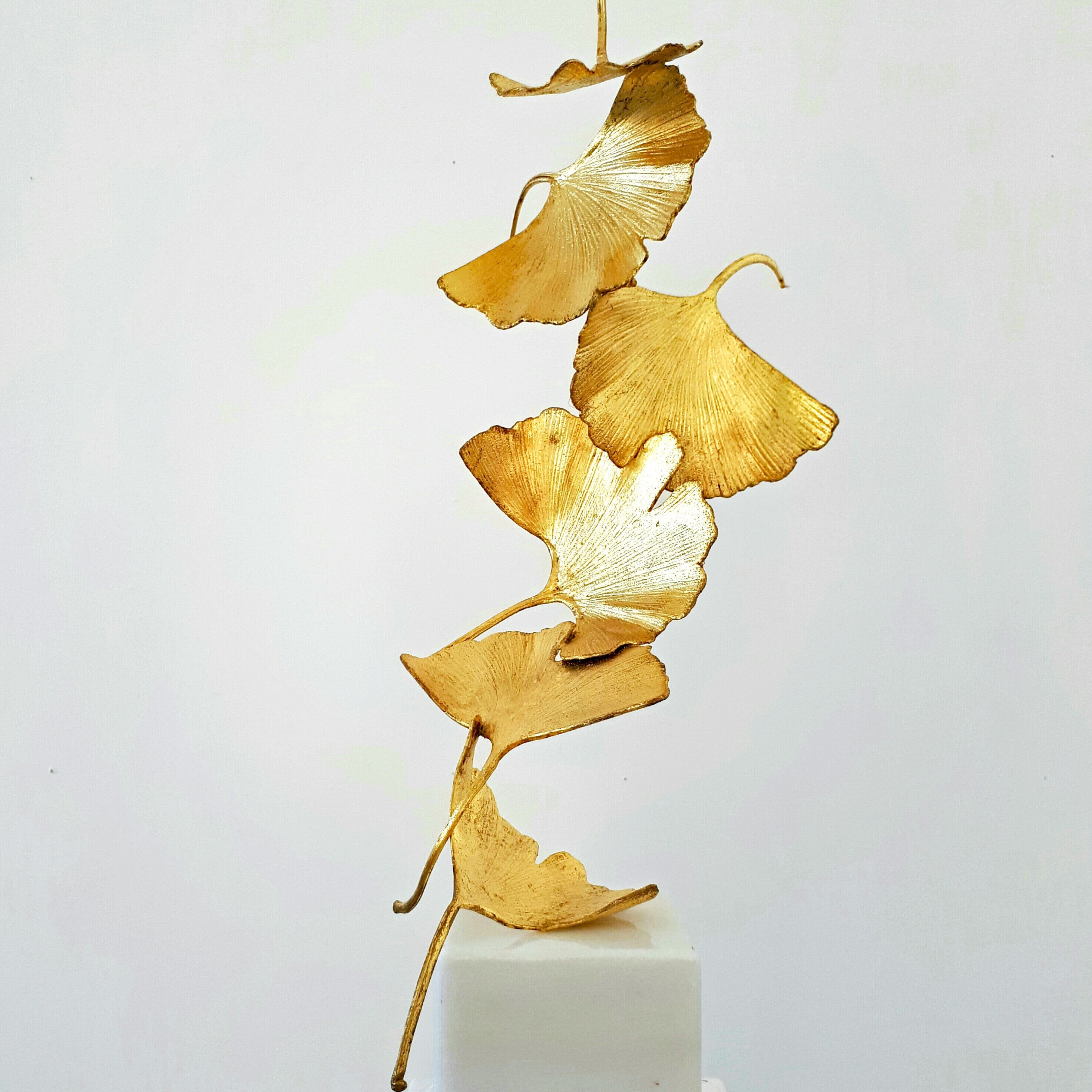 Golden Gingko 6 leaves - Kuno Vollet