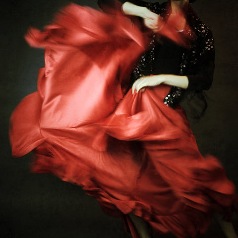 Vogue Italia Red Dress - Josephine Cardin