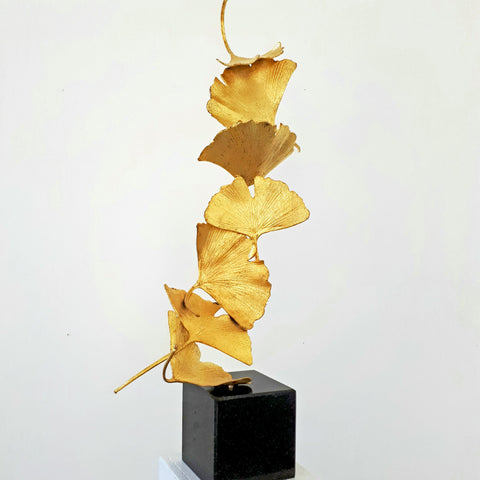 Golden Gingko 7 leaves - Kuno Vollet