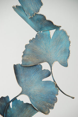 Bronze Gingko 8 leaves - Kuno Vollet