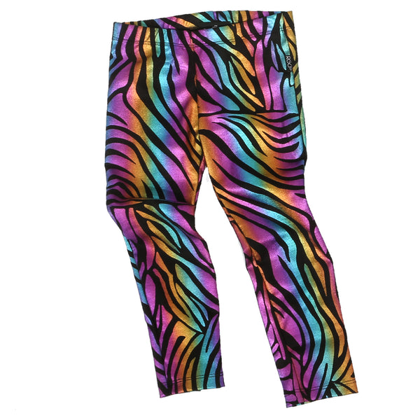 RGC Mommy & Me Wild Zebra Print Leggings