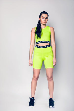 Physical Neon Adult Biker Shorts