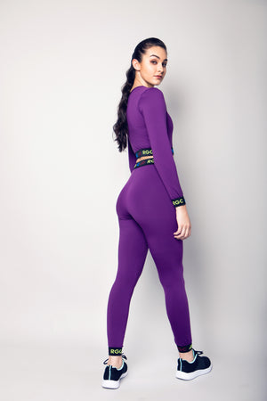 Physical Purple Passion Adult Leggings