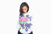 Happy Hippie Flower Graffiti Hoodie