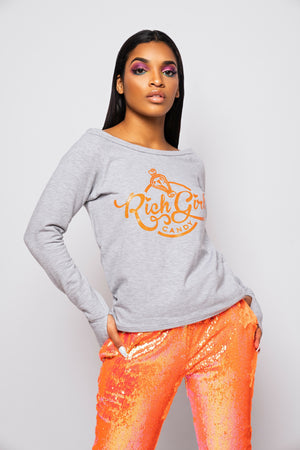 Candy Coated Orange RGC Pullover