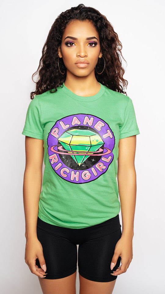 Planet Rich Girl Tee