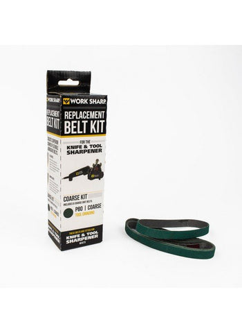 Work Sharp 80 Grit Belt Pack