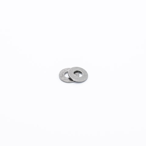 "18-8 Stainless Steel SAE Washer for Number 8 Screw Size, 0.188"" ID, 0.438"" OD Drawing #9"