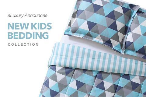 eLuxury Announces New Line of Kids Bedding