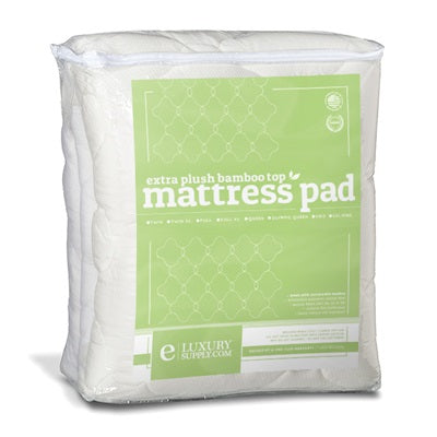 Ultra Soft Bamboo Mattress Pad