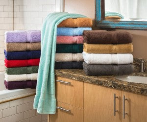 Revitalize your bathroom with luxury towels