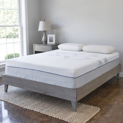 12 Inch Gel Memory Foam & Latex Innerspring Hybrid Mattress
