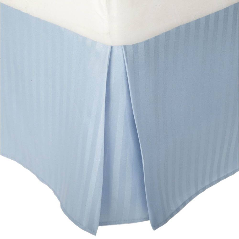 Striped 1500 Series Microfiber Bed Skirt